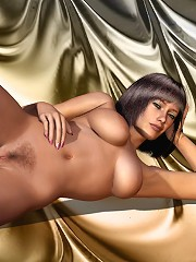 Hot 3D Belle gets exploited and jizzed with jizz